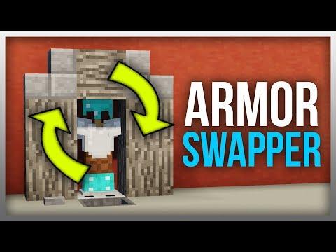 ✔️ Minecraft 1.14: Redstone Tutorial - Armour Swapper V3