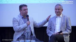 41 Forum Humanum Mazurkas -dyskusja na proscenium