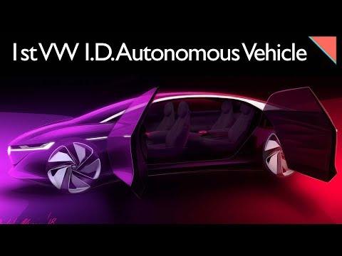 VW I.D. VIZZION, Part Values Driving Auto Theft - Autoline Daily 2294