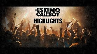 Eskimo Callboy Russian Tour 2016 Highlights (with Cry Excess)