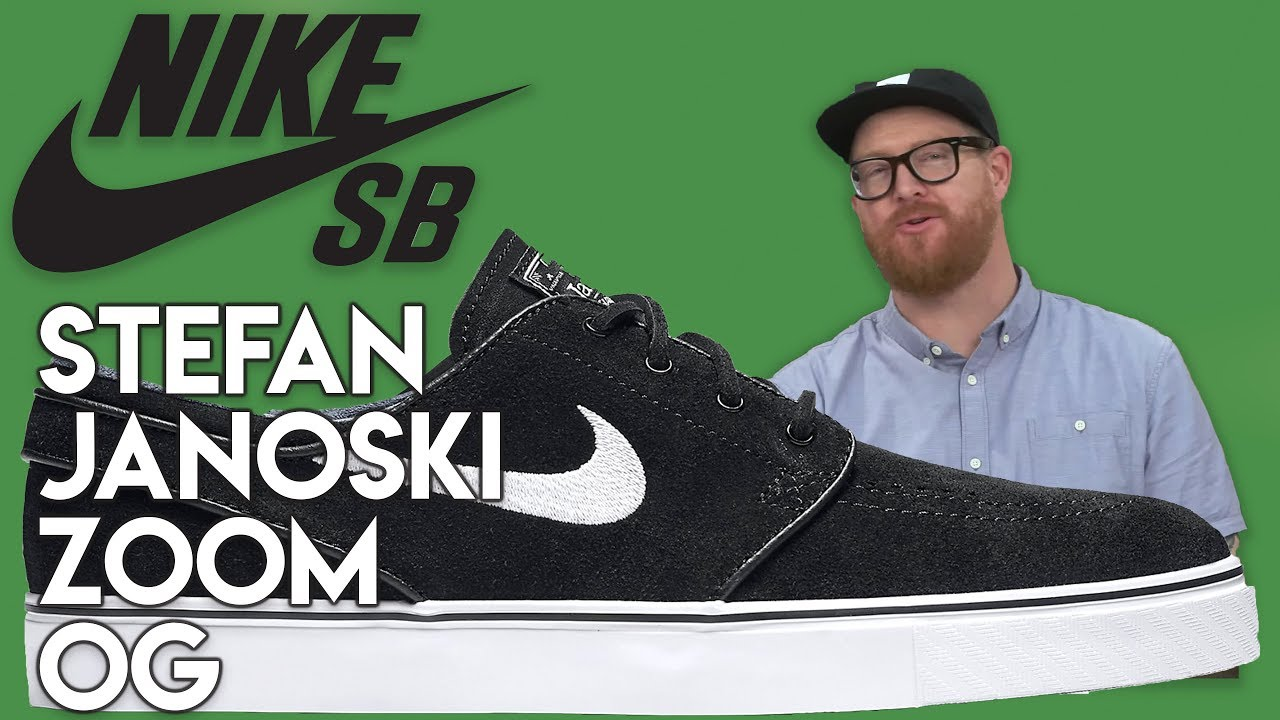 release date: sale usa online classic styles Nike SB Zoom Stefan Janoski OG Skate Shoes