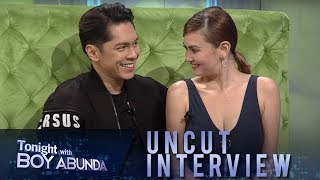 TWBA Uncut Interview: Carlo Aquino and Angelica Panganiban
