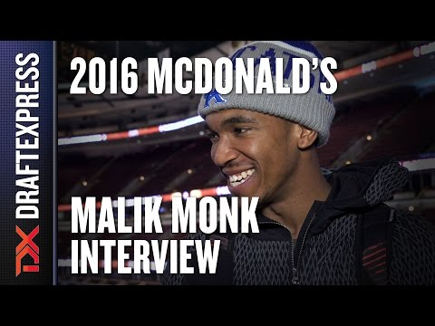 Malik Monk - 2016 McDonald