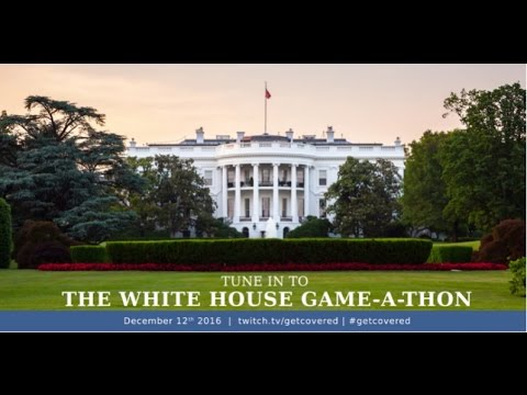 Twitch White House Gaming #GetCovered Event - #CUPodcast