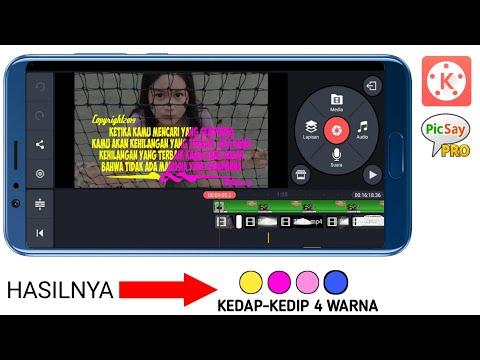 CARA TERBARU MEMBUAT VIDEO QUOTES KEDAP KEDIP DI KINEMASTER