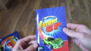 Stunt GP retro PC game unboxing