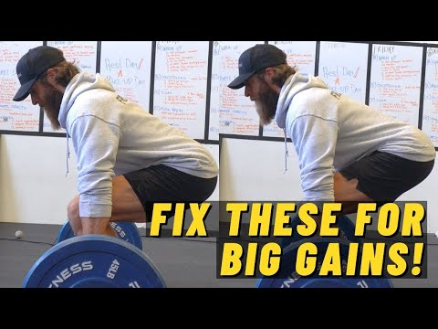 5 BEGINNER Deadlift Mistakes (and How To Fix Them!)