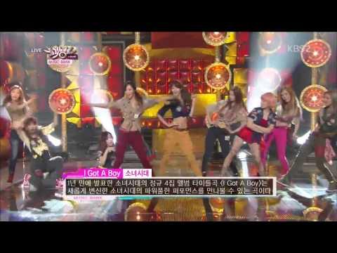 (130104)(HD) SNSD / GIRLS' GENERATION - Dancing Queen + I Got A Boy (Comeback Stage)