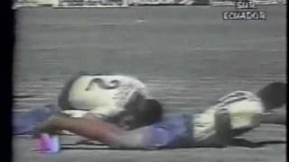 ECUADOR VS ARGENTINA - ELIMINATORIAS MUNDIAL FRANCIA '98 (2 JUNIO 1996)