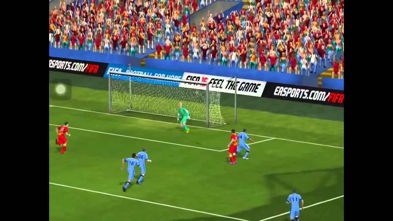 FIFA 15 iOS Inform Diego Costa and Inform Carlos Tevez - YouTube