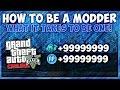 GTA Online Mods- How To Be A Modder! (GTA V Modding)