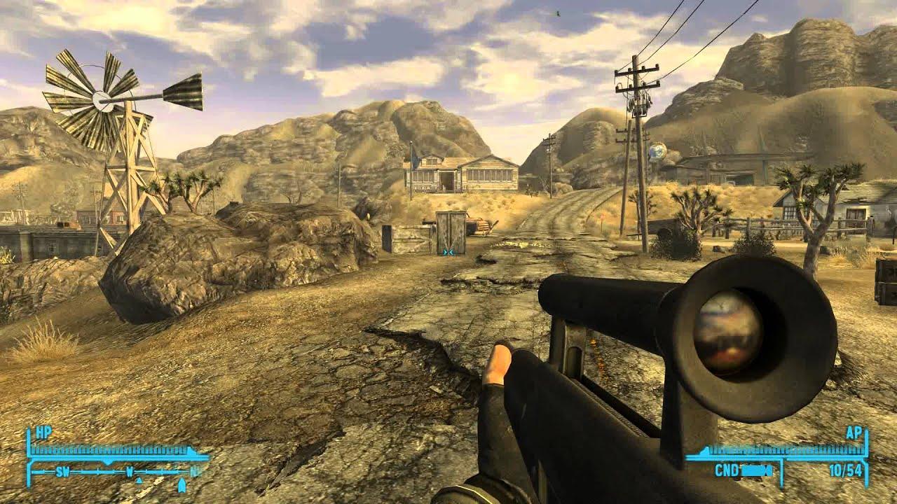 Fallout New Vegas - Millenia's Weapon Mods Spotlight - YouTube