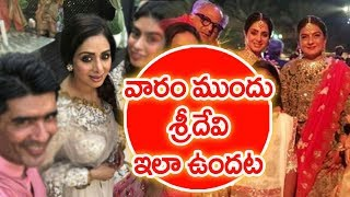 What Happened In That One Week Before Actress Sridevi Death? | #RipSridevi | Mahaa News