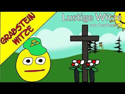 Grabstein Witze - Letzte Worte Berufswitze - Lustige Witze
