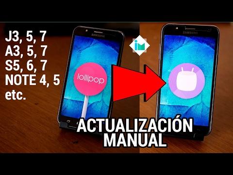 Samsung Galaxy - Instalar actualización de Android Lollipop, Marshmallow, Nougat, etc