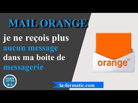 Mail Orange - je ne reçois plus de message !!