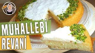 Muhallebili Revani Tarifi - Tart kalıbında revani nasıl yapılır? | Hatice Mazı ile Yemek Tarifleri