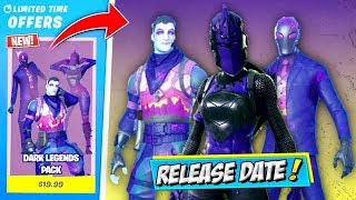HOW TO GET THE NEW DARK LEGENDS BUNDLE PACK IN FORTNITE! (DARKNESS RISING BUNDLE) RELEASE DATE!