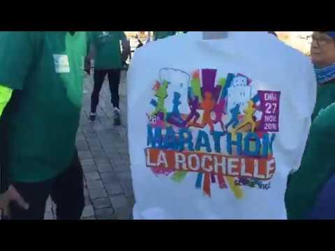 27e Marathon de La Rochelle : la chauffe-gambettes de l'édition 2017 en direct