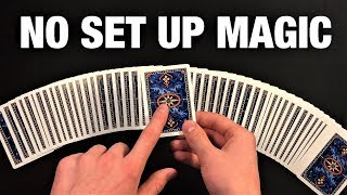 FOOL EVERYONE With This Crazy NO SET UP Card Trick!