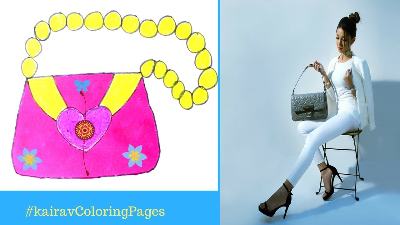 How To Draw Handbag For Girls How To Draw A Purse