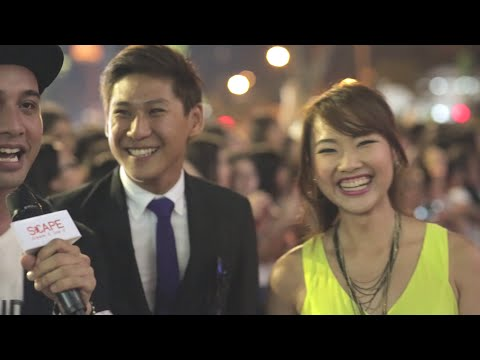 Tree Potatoes: Foxy is blown away! ( FanFest SG 2015 Red Carpet at *SCAPE)