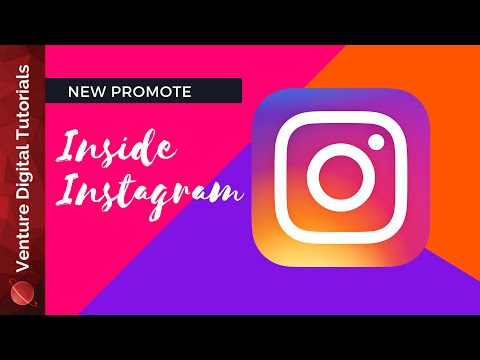 """Instagram """"Promote"""" Button - How To Run An Ad Inside The App"""