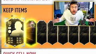 MY 30-0 ULTIMATE TOTW PACK!! 11 INFORMS!! FIFA 20