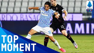 Floccari Scores a Worldie from 30 Yards to put SPAL 2 up | SPAL 2-2 Milan | Top Moment | Serie A TIM