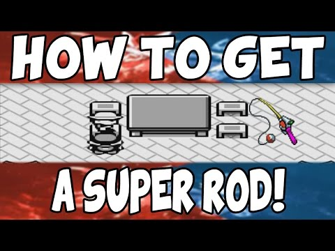 How To Get The Super Rod On Pokemon Red/Blue!