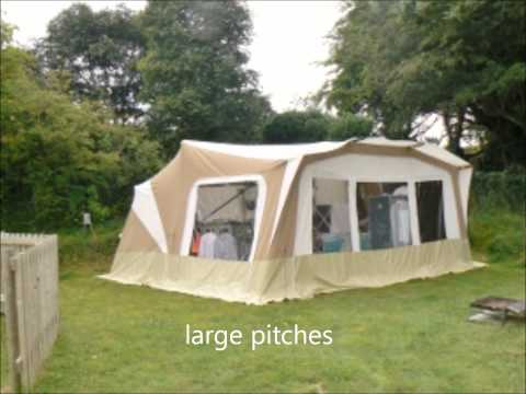 Camping at Tehidy Holiday Park in Cornwall