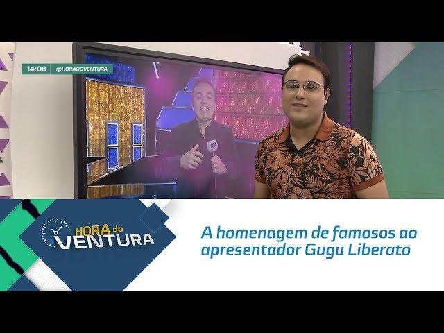 A homenagem de famosos ao apresentador Gugu Liberato - Bloco 01