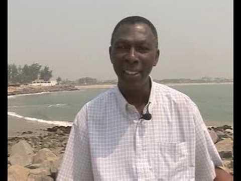 Erosion threatening Benin's coastline