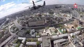 Пролет авиации на параде Победы-2015