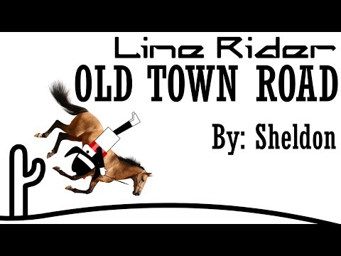 Line Rider - Old Town Road | SYNCED | LRHorse Mod