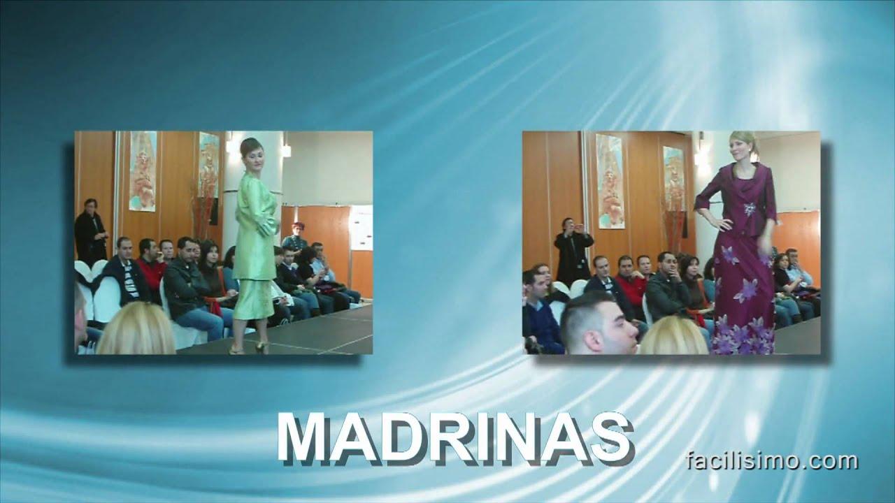 Vestidos de novia y de madrina. Desfile de Sandra Novias. - YouTube