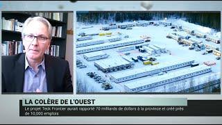 Répercussions de l'abandon du projet Teck Frontier – Frédéric Boily