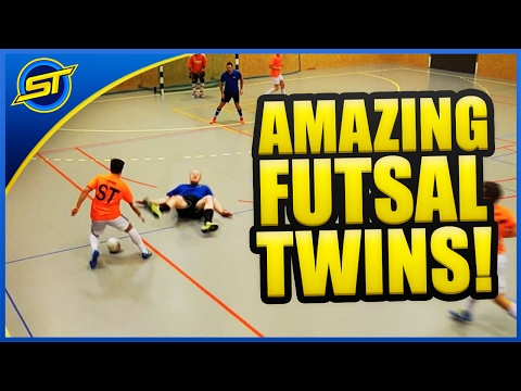 Futsal Skills You Never Seen Before By TWINS! ★ Ronaldo/Neymar/Falcao/SkillTwins Skills