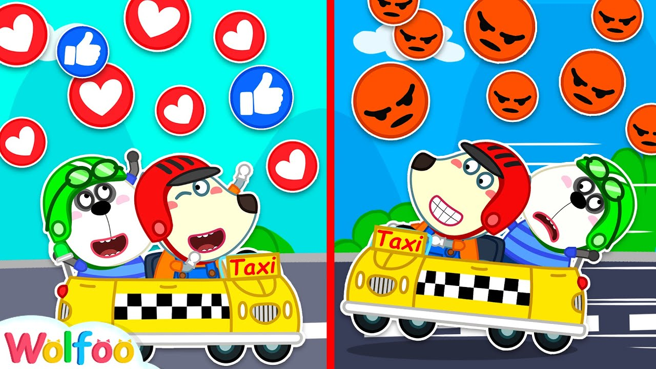 Wolfoo Rides on Car for Kids and Pretend Play Jobs and Careers | Wolfoo Family Kids Cartoon