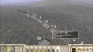 Rome Total War Online Battle #2015: two vs one (live-commentary)