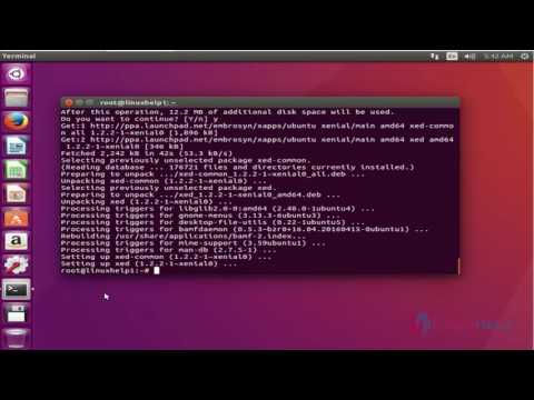 How To Install Xed Editor On Ubuntu 16.04