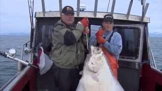 Nfl's Larry Csonka Catches Cook Inlet Halibut