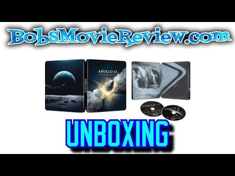 Download Apollo 13 4KUHD Steelbook Unboxing