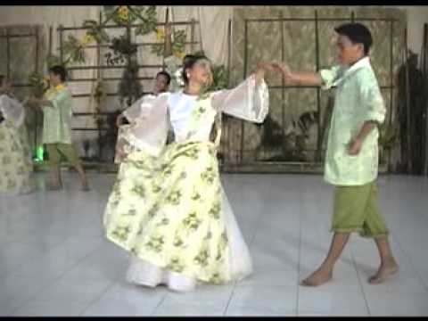 bicol dances Bicolano cariñosa according to the book of francisca reyes-aquino, philippine folk dances, volume 2, there is a different version of the dance in the region of bicol in the bicol region carinosa, hide and seek movement is different.