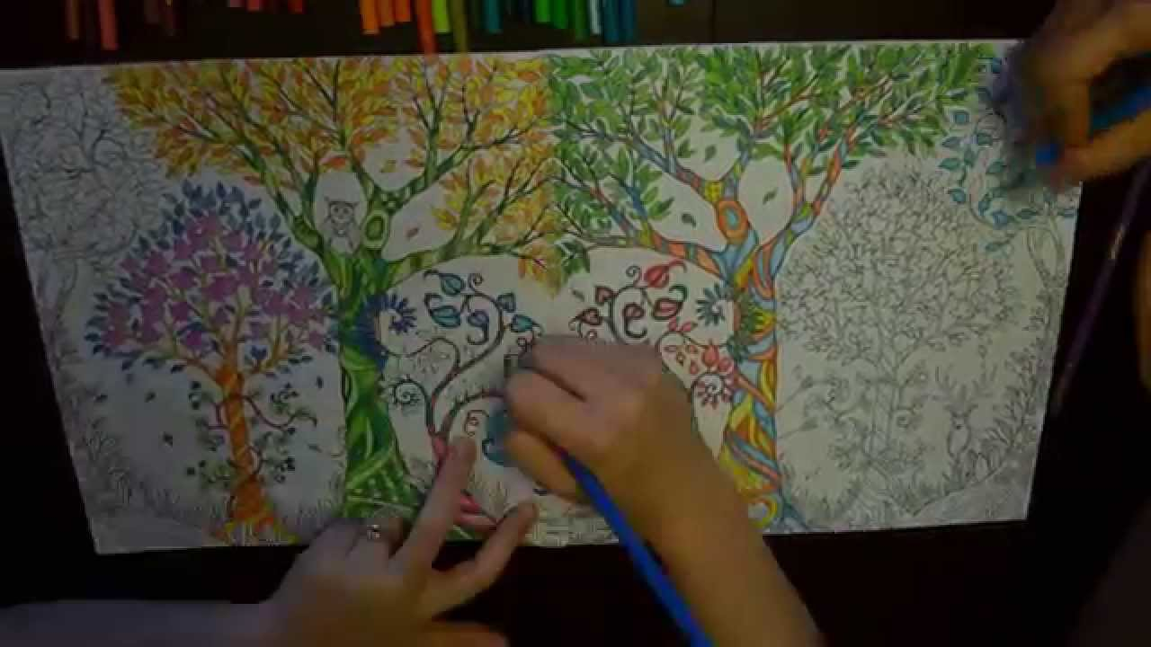 Enchanted forest coloring book website - Enchanted Forest Coloring Book Website 47