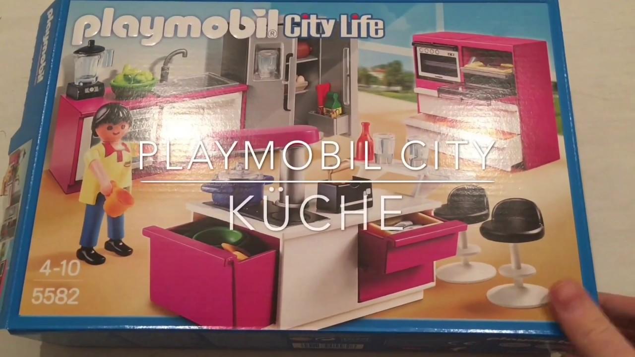 Playmobil Küche Unboxing Spielzeuge Auspacken  Youtube
