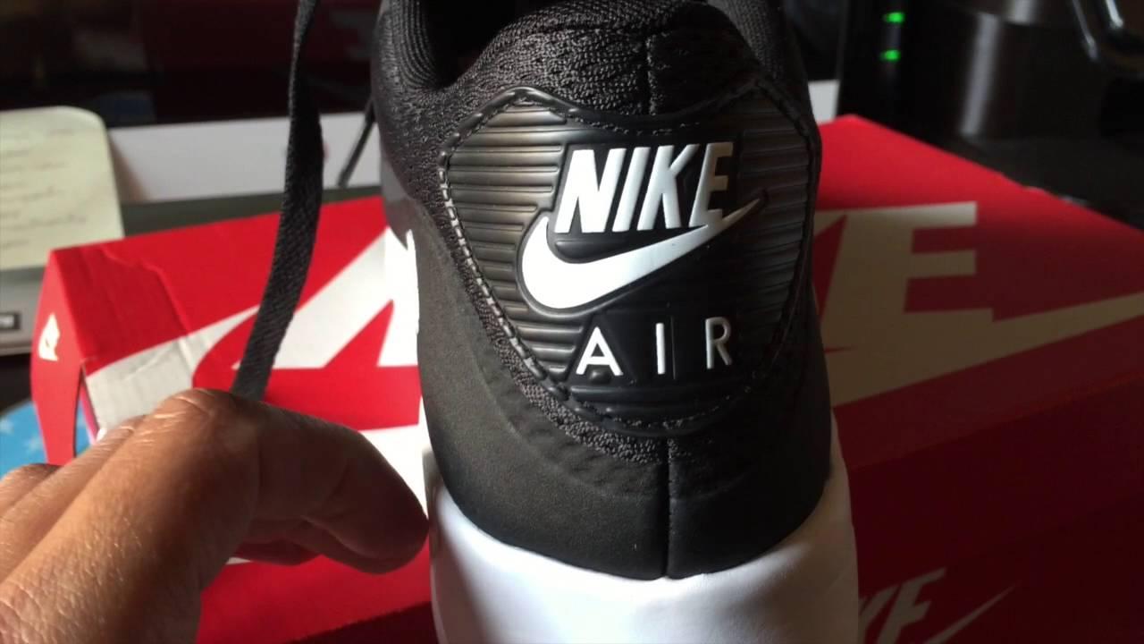 2016 8.5 875943 007 Nike Air Max 90 Ultra 2.0 Flyknit