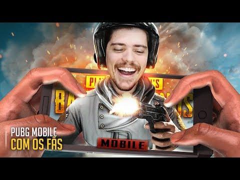PUBG MOBILE COM OS FÃS