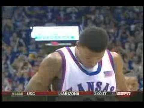 Brandon Rush - Kansas Jayhawks vs Kentucky Wildcats (1/7/06)