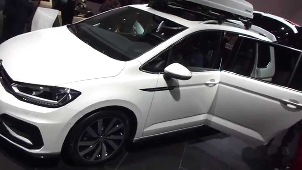 2015 IAA VW Touran 2.0 TDI ''R-Line'' Clean Diesel (?) + Roof Box * see also Playlist - YouTube